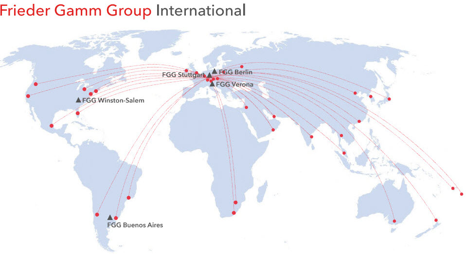 Frieder Gamm Group international